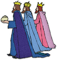 200x211 Three Wise Men Clipart