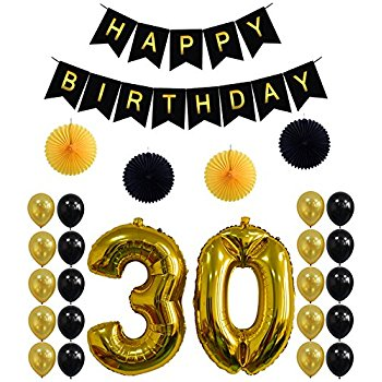 350x350 30th Birthday Party Decorations Kithappy