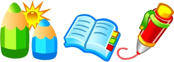 600x216 Book Icon Vector Free Vector Download (19,416 Free Vector)