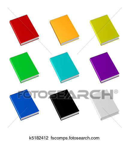 430x470 Clip Art Of Blank Empty 3d Book Cover K5182412