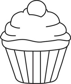 236x278 3d Clipart Cupcake