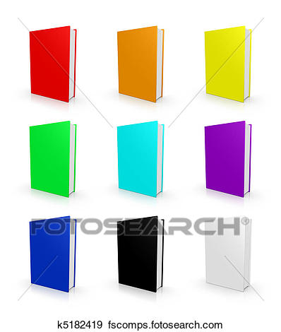 398x470 Stock Illustration Of Blank Empty 3d Book Cover K5182419