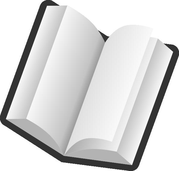 594x567 3d Book Clipart