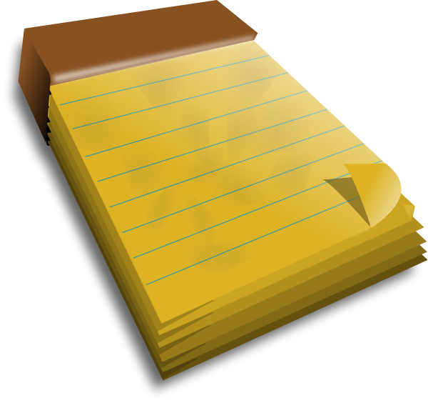 600x564 3d Note Book Svg Vector File Vector Clip Art Svg File Free Image
