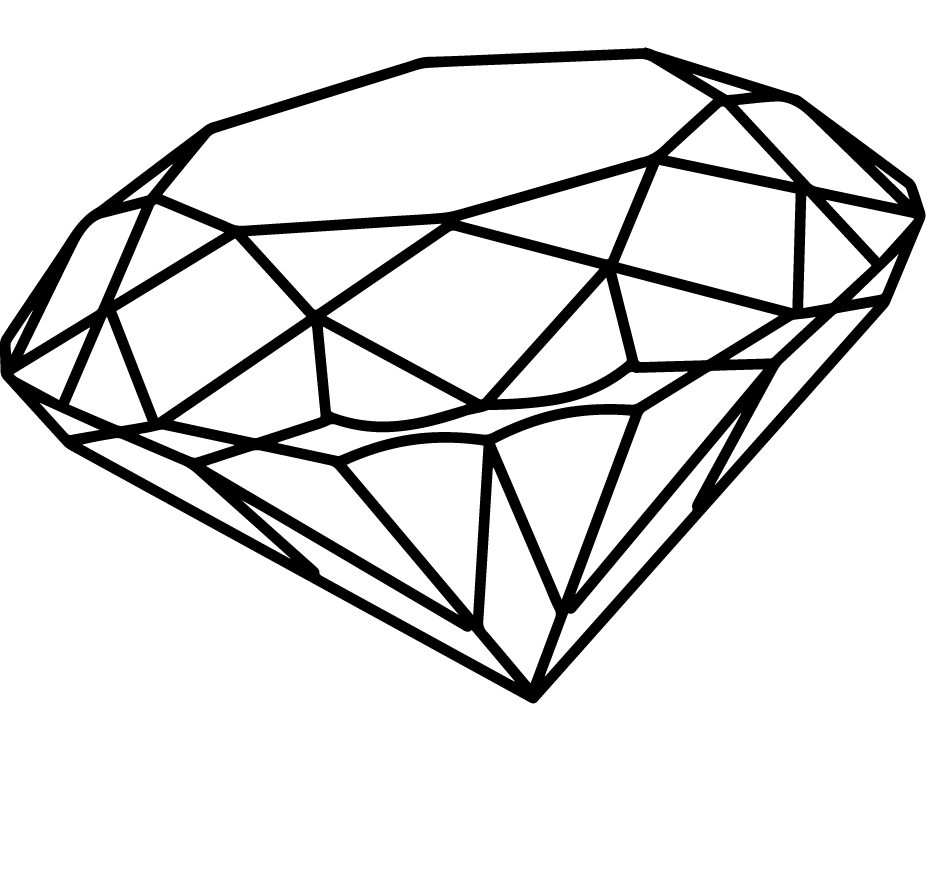 936x871 Simple 3d Diamond Drawing Diamond Cliparts Drawing Free Download