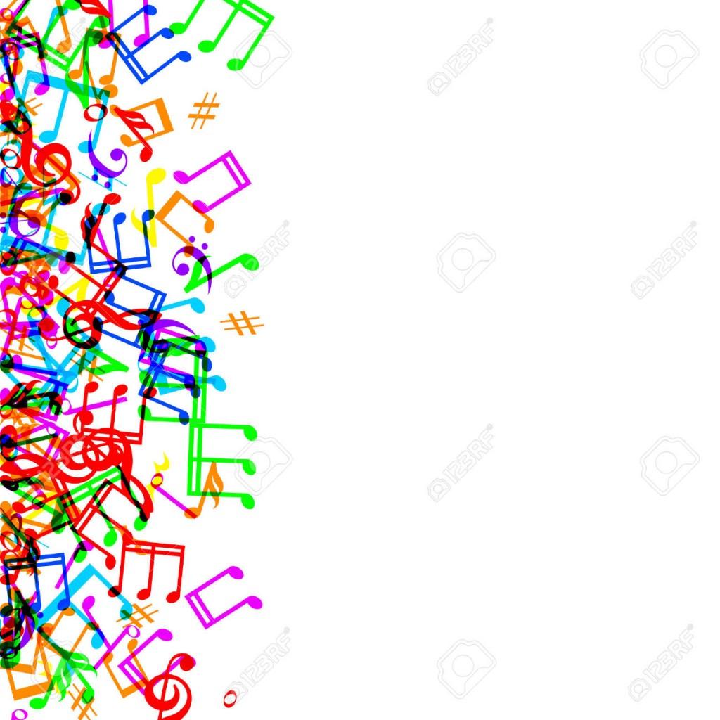 1024x1024 Music Note Border