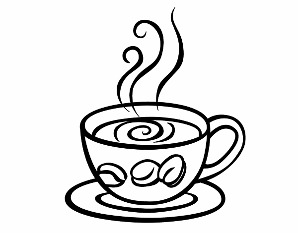 600x470 Cappuccino Coloring Pages Coloring Pages 3d Cards