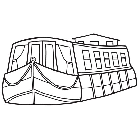 550x550 Drawn Boat Looks 3d