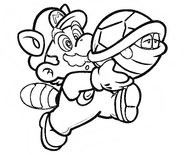 640x533 Mario Coloring Pages