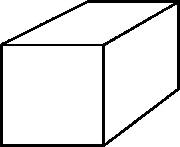 600x488 3d Rectangle Clip Art