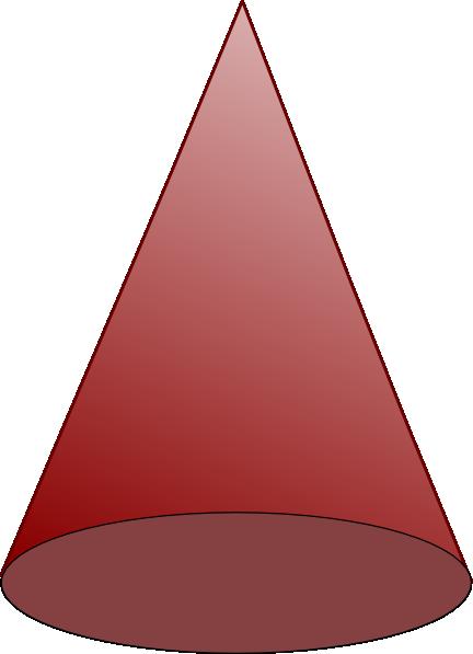 432x597 Brown Cone Clip Art
