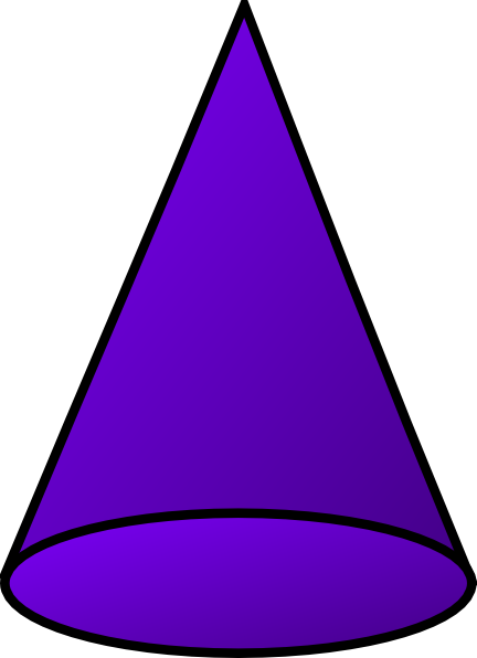 432x596 Cone Clip Art