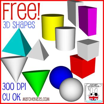350x350 Free! 3d Shape Clip Art Images