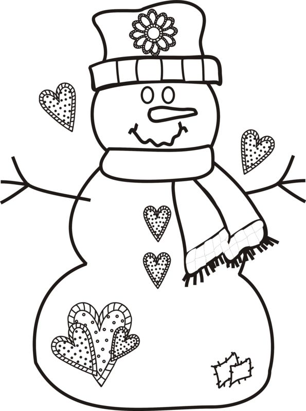 595x800 39 Best Christmas Coloring Pages Images Draw