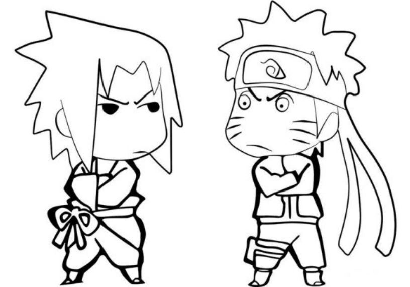 816x571 Printable Naruto Coloring Pages To Get Your Kids Occupied