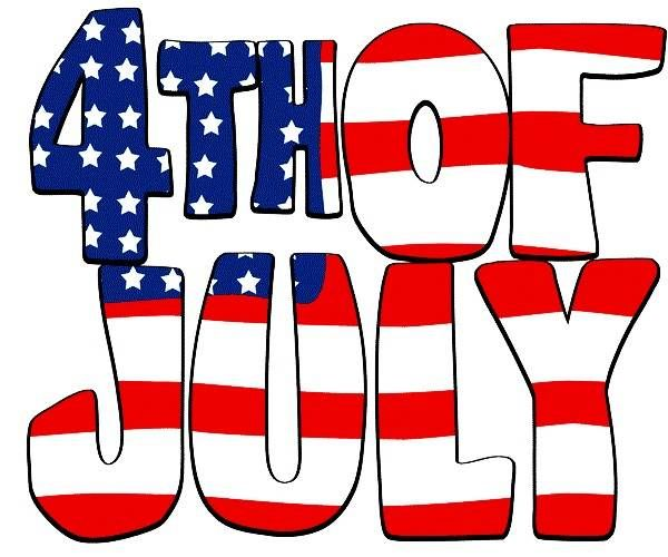 600x500 4th Of July 4 Clip Art Free Graphics Pictures Images Borders