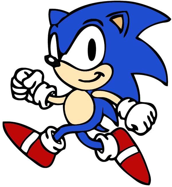 600x652 Top 72 Sonic Clip Art