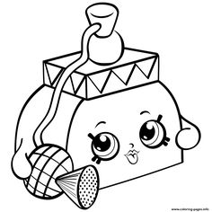 236x236 Print Limiteded Sallyscent Shopkins Season 4 Coloring Pages