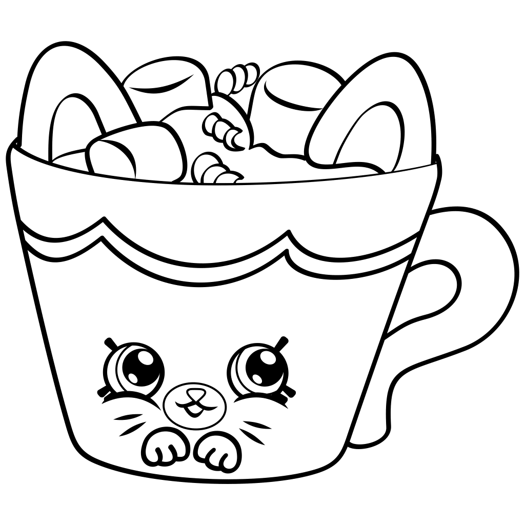 1024x1024 Shopkins Coloring Pages Coloring 3 Shopkins