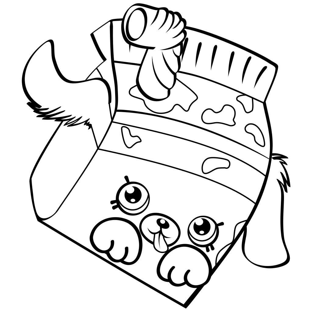 shopkin coloring pages season 4 | 4 Coloring Pages | Free download best 4 Coloring Pages on ...
