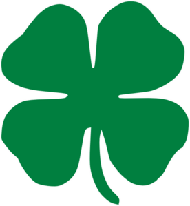 276x299 Four Leaf Clover Clip Art
