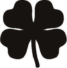 236x240 4 Leaf Clover Clipart Of Shamrocks And Four Leaf Clovers 5