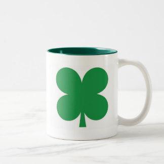 324x324 4 Leaf Clover Mugs, 4 Leaf Clover Coffee Mugs