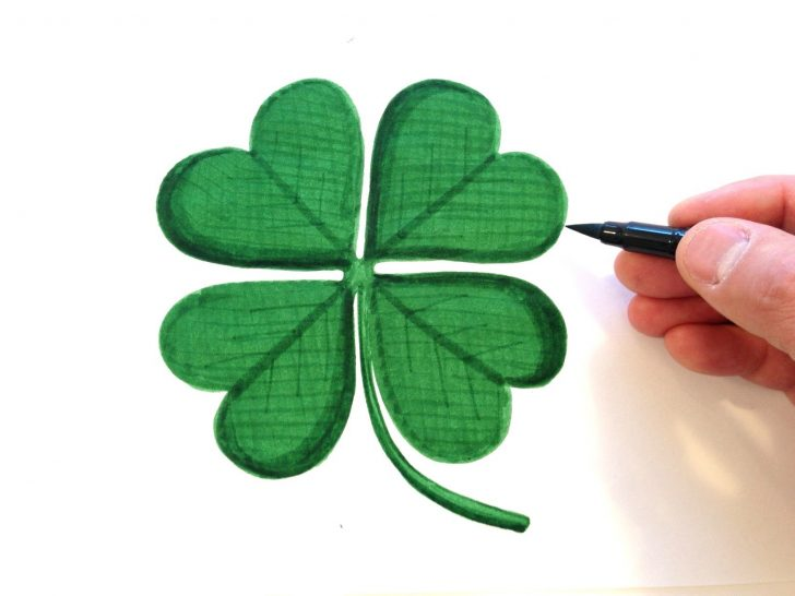 728x546 Leaf Clover Decal D Pictures Of 4 Plants Tattoos Four Clip Art