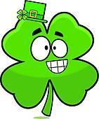 141x170 Lucky Four Leaf Clover Clip Art
