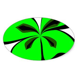 324x324 4 Leaf Clover Stickers Zazzle