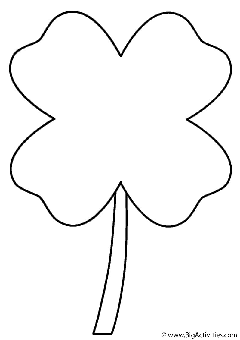 798x1128 Four Leaf Clover
