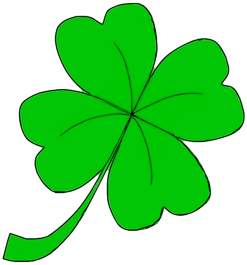 500x535 Four Leaf Clover 03