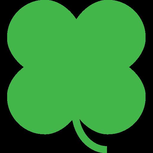 512x512 Four Leaf Clover Emoji For Facebook, Email Amp Sms Id  11562