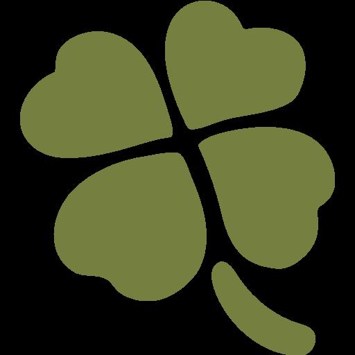 512x512 Four Leaf Clover Emoji For Facebook, Email Amp Sms Id  1533