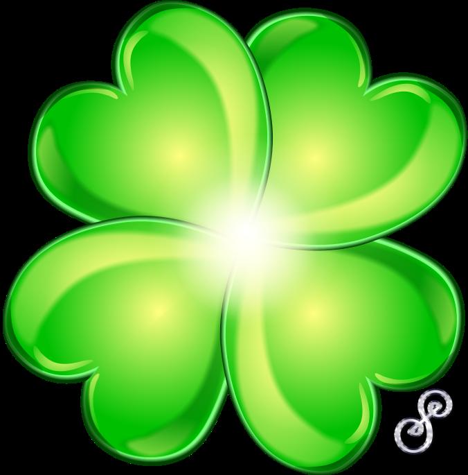 676x685 Four Leaf Clover For Luck!
