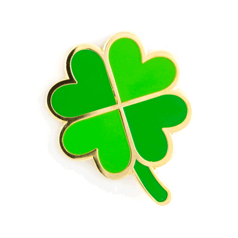 480x480 Four Leaf Clover Pin These Are Things