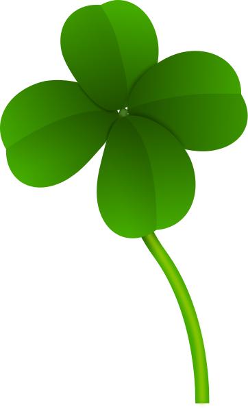 362x597 Four Leaf Clover Long Stem