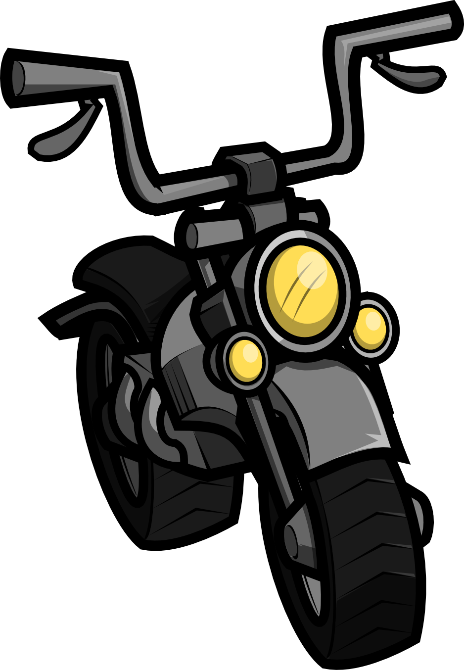 938x1354 Motorcycle Clipart Printable