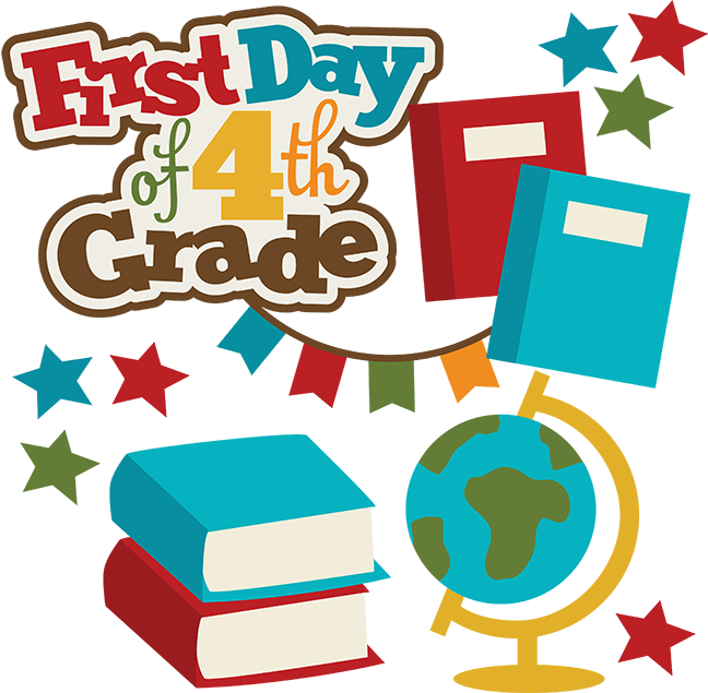 648x635 First Day Of 4rd Grade Svg School Svg Collection School Svg Files