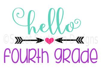 340x270 Hello Fourth Grade Etsy
