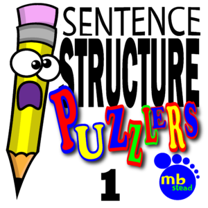 300x300 Sentence Structure Classroom Activity For 4th Grade!