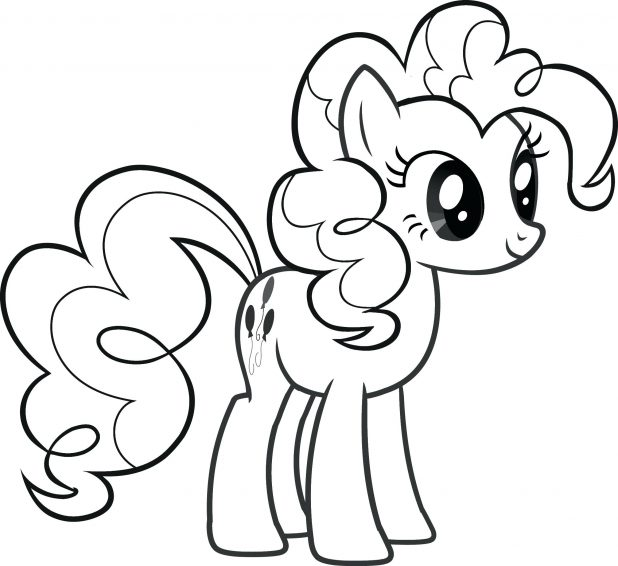 618x566 My Little Pony Coloring Pages Free Printable For Kids Printables