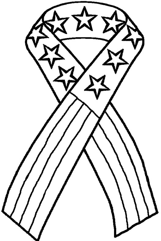 528x792 4th Of July Coloring Page