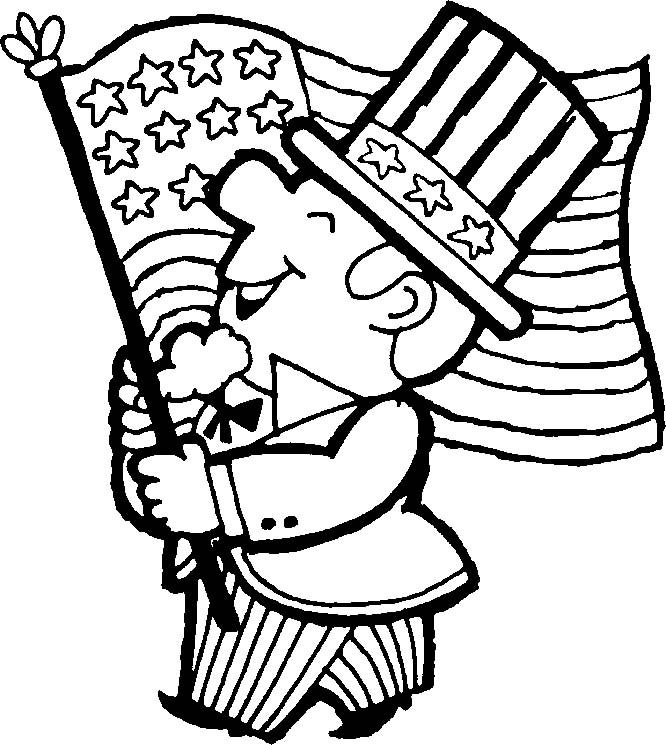 666x745 68 Best 4th Of July To Color Images Adult Colouring