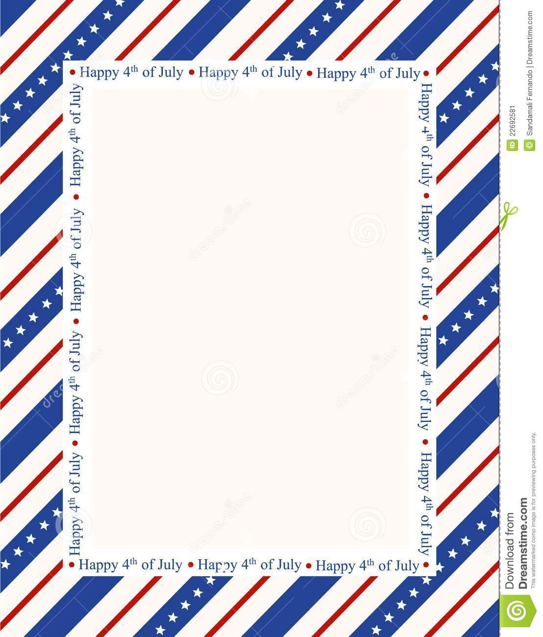 1108x1300 Clip Art 4th Of July Border Clip Art