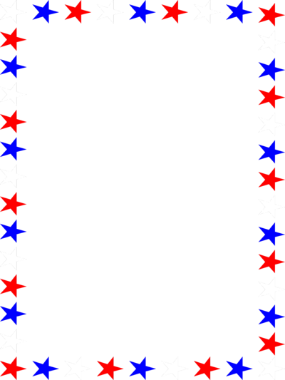400x533 Red White Blue Borders Blue Border Clipart Red White