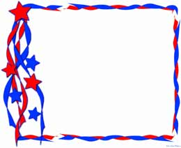 260x212 4th Of July Parade Clipart