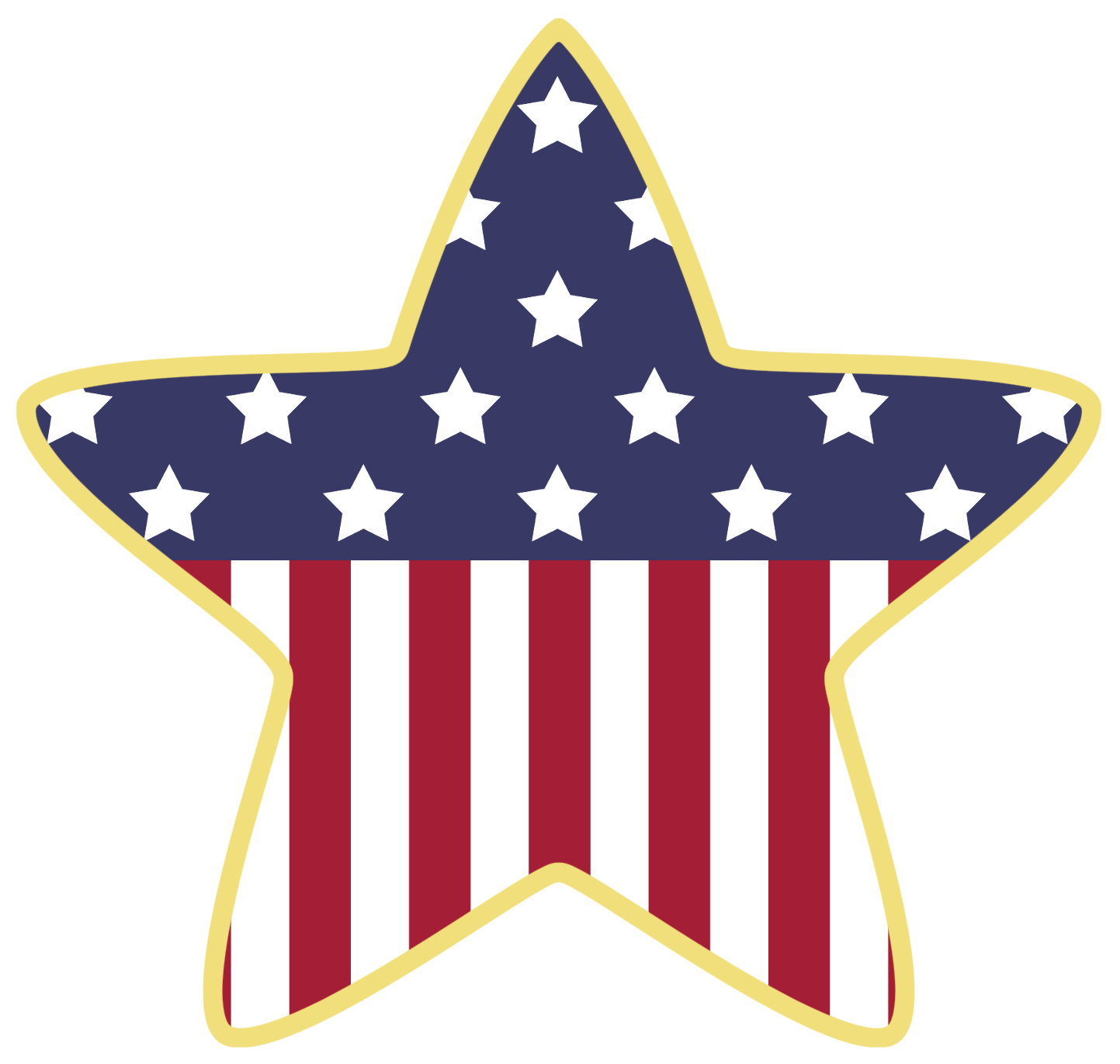 1443x1371 American Star Decoration Png Clipartu200b Gallery Yopriceville