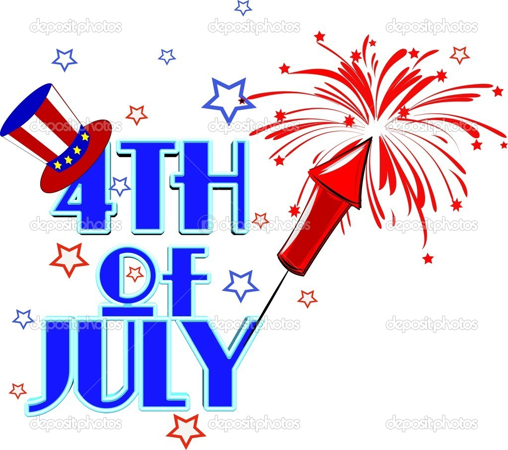 1023x906 4th Clipart Firework July