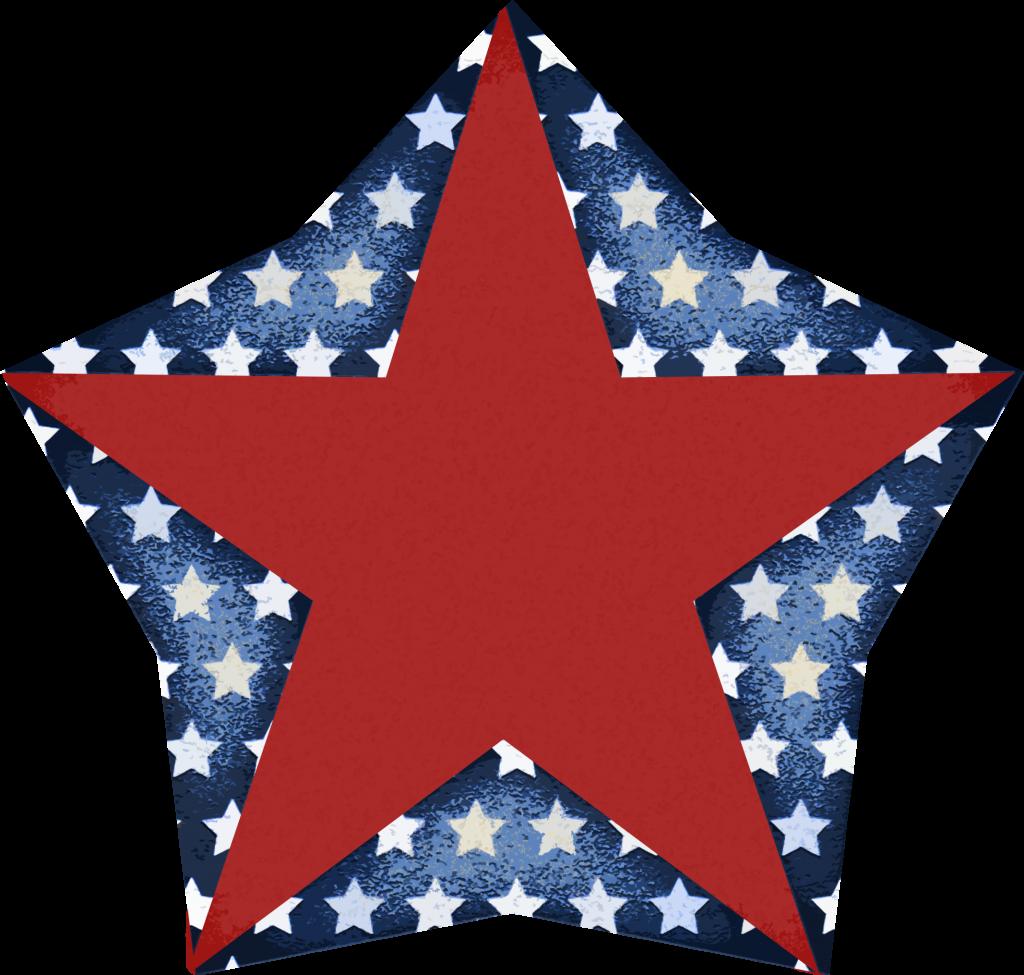 1024x975 4th Of July Stars Clip Art